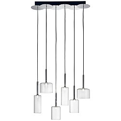 Spillray 6 Light LED Linear Pendant Light