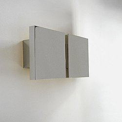 Square 2P Wall Sconce