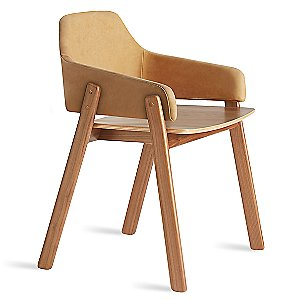 Clutch Leather Chair by Blu Dot