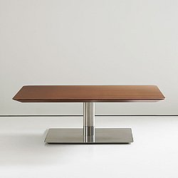 Quiet 30 inch Square Cocktail Table