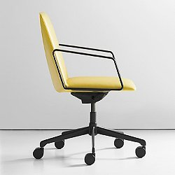 I.a.m Upholstered Swivel Armchair