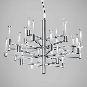 Seraph LED Chandelier by Blackjack Lighting