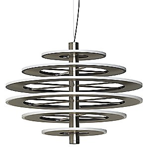 Staxx 6-Tier LED Pendant Light by Blackjack Lighting