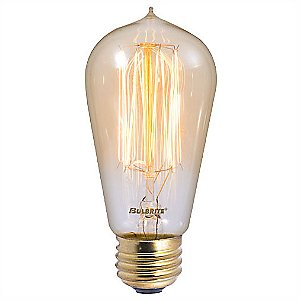 Nostalgic Edison ST18 Vintage Thread Filaments Lamp by Bulbrite
