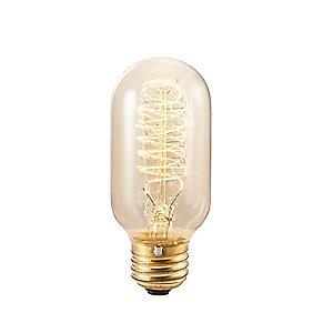 Nostalgic Edison T14 Vintage Spiral Filaments Lamp by Bulbrite