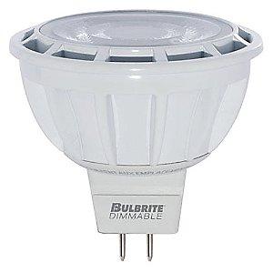 8W 12V MR16 NFL25 3000K LED Bulb by Bulbrite