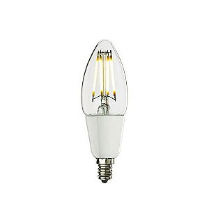 Dimmable Chandelier LED Filaments Lamp, Set of 2 by Bulbrite