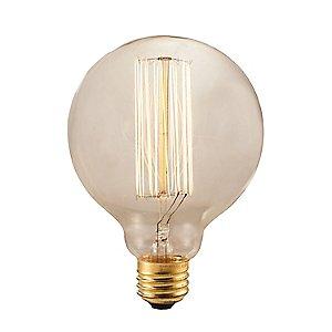 Nostalgic Edison G30 Globe Thread Filaments Lamp by Bulbrite