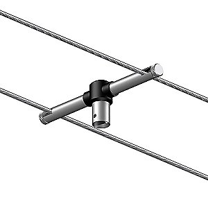 High-Line Adapter H (Horizontal) by Bruck Lighting