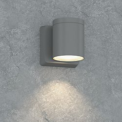 Outdoor Cylinder LED Wall Light