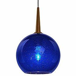 Bobo 1 Pendant (Blue Bubble/Bronze) - OPEN BOX RETURN