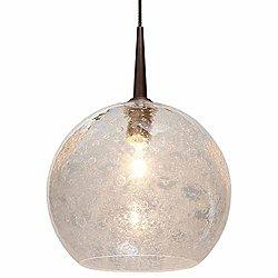 Bobo II Pendant (Clear/Bronze/4 In Canopy) - OPEN BOX RETURN