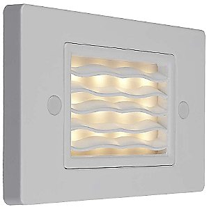 Ledra Horizontal Wave Step Light by Bruck Lighting