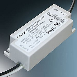 12W DC Driver for LED Fixtures (500mA DC) by Bruck Lighting