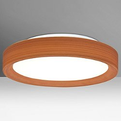 Pella LED Flushmount (Cherry/Opal Matte/16 Inch) - OPEN BOX