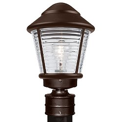 Costaluz 3100 Series Outdoor Post Light (Brz/Fst) - OPEN BOX