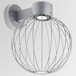 Sultana Globe LED Outdoor Wall Light