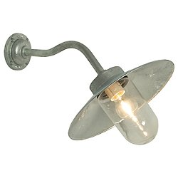 Exterior Canted Bracket Wall Light