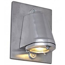 Mast LED Outdoor Wall Sconce with Plate