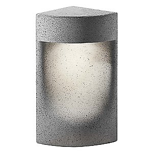 Moai Outdoor Bollard Light by Bover