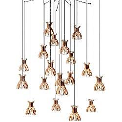 Domita Large Multi Light Pendant Light