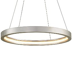 Jasmine LED Circular Frame Pendant Light