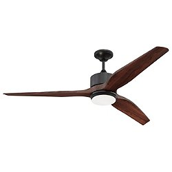 Mobi Ceiling Fan (Oiled Bronze with Mahogany) - OPEN BOX