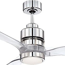 Sonnet 52 Inch Ceiling Fan (Chrome) - OPEN BOX RETURN