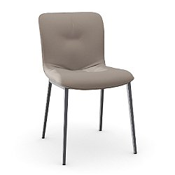 Annie Soft Upholstered Metal Chair