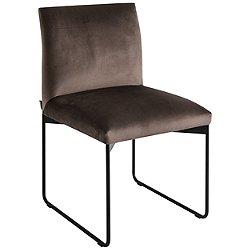 Gala Upholstered Metal Chair