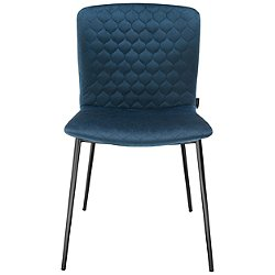 Love Upholstered Metal Chair