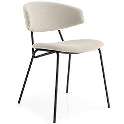 Sophia Upholstered Metal Chair (Bergen Sand)-OPEN BOX RETURN