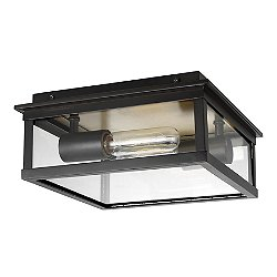 Freeport Outdoor Flush Mount Ceiling Light