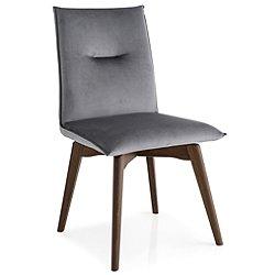 Maya Chair - Angled Solid Wood Base