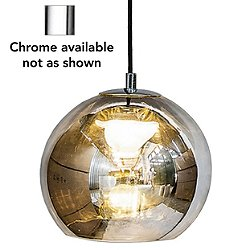 Kubric Pendant Light - Single Canopy (Chrome) - OPEN BOX RETURN