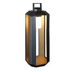 Cube Outdoor Floor Lamp