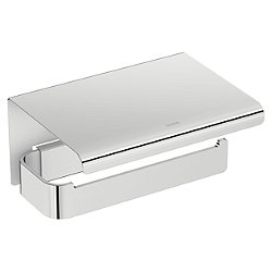 Line Toilet Paper Holder with Cover