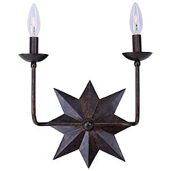 Astro 2 Light Wall Sconce (English Bronze) - OPEN BOX RETURN
