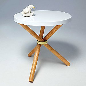 Tri-Pod Table by Castor