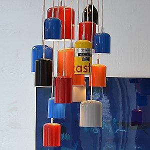 Tank Pendant 15 Light Combination Set by Castor