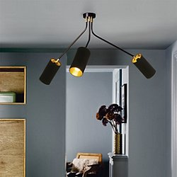Array Mini Cotton Chandelier