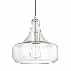 Ludo Glass Pendant by Alder & Ore - OPEN BOX RETURN