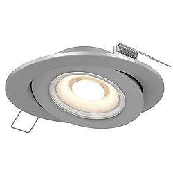 4 Inch Flat Gimbal LED Trim