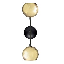 Mishal Dual Globe Wall Sconce