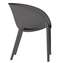 Soft Egg Chair by Driade (Dark Grey) - OPEN BOX RETURN