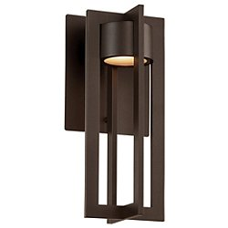 Chamber LED Outdoor Wall Sconce