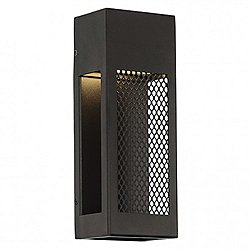 Grate LED Outdoor Wall Sconce (12 Inch) - OPEN BOX RETURN