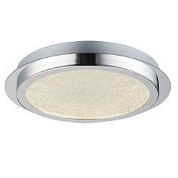 Saveria LED Round Flush Mount Ceiling Light