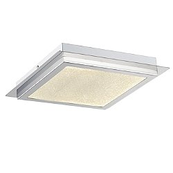 Saveria LED Square Flush Mount Ceiling Light