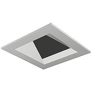 Entra Flanged Adjustable Square Flat Trim by Element